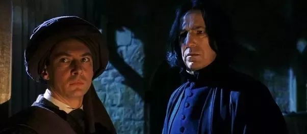 Snape threatened Quirrell