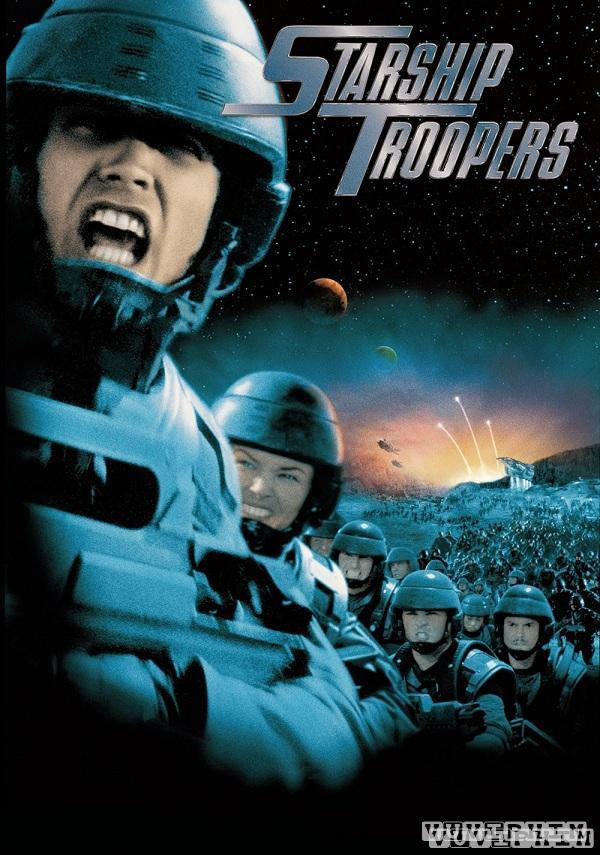Nhen Khong Lo Starship Troopers 1997 Poster
