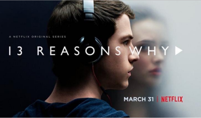 13 Reasons Why poster bộ phim