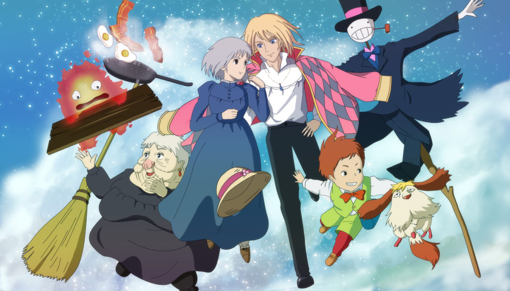 Howls Moving Castle LauDai Di Dong Cua Howl 2