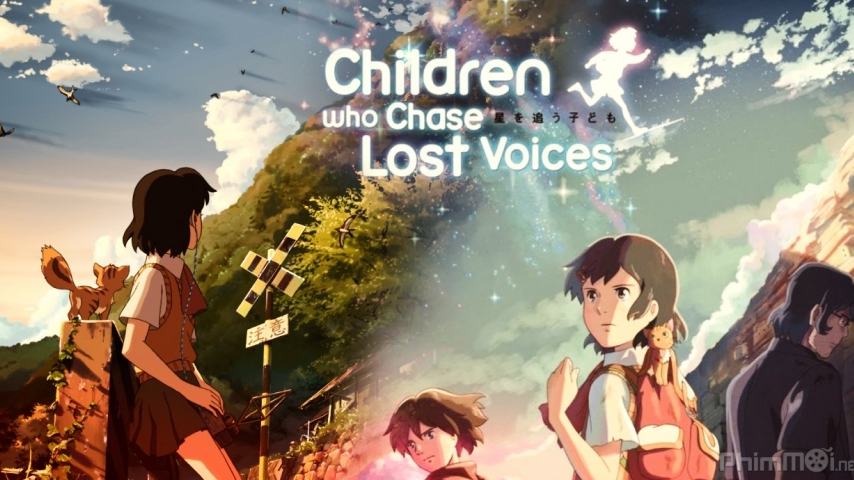 Shinkai Makoto Children who chase lost voice