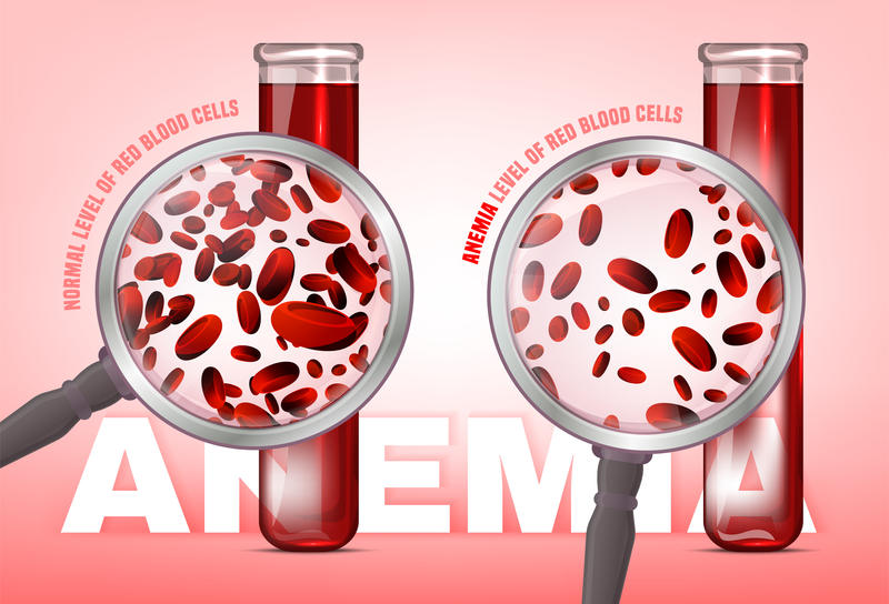 Anemia level of blood cells