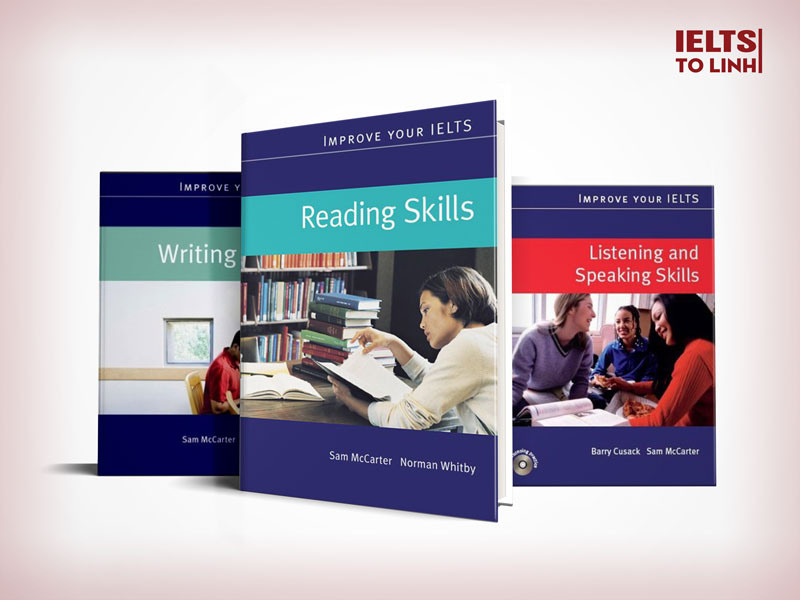 """Improve your ielts"" series from Macmillan English"