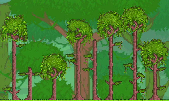 Jungle Surface Biome In