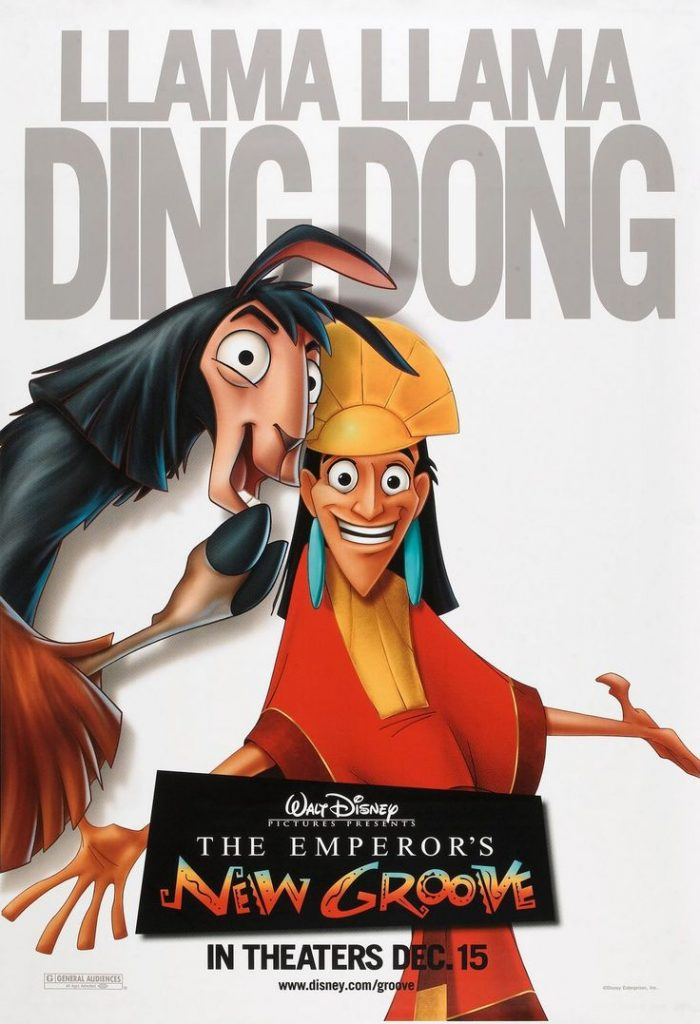 Phim The emperor's new Groove 2000
