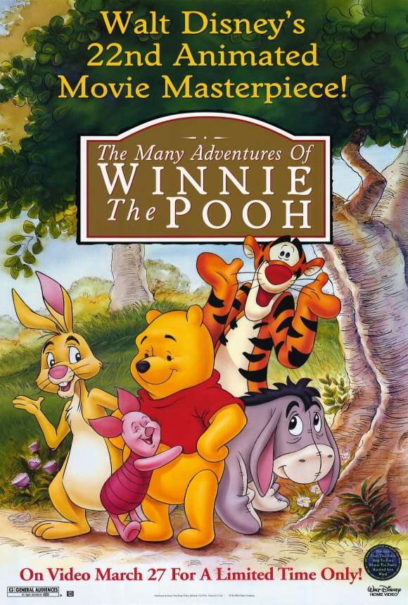 Phim The many adventures of Winnie the Pooh 1977